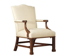 classic style armchair COLONIAL WILLIAMSBURG : PHILADELPHIA STICKLEY
