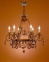 classic style chandelier (bronze, handmade) PALAZZO Antonio Almerich Classic