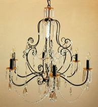 classic style chandelier (iron) RV-163/M/F6 Signature Home Collection