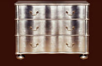 classic style chest of drawers REGENCY WAVE JULIAN CHICHESTER