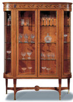 classic style display case CARLOTTA OAK DESIGN