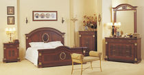 classic style double bed ALBINA Metebronz mobilya