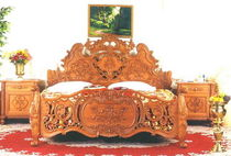 classic style double bed ANGEL Andrews Wood Crafts