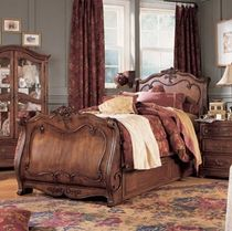 classic style single bed JESSICA MCCLINTOCK LEA INDUSTRIES