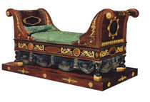 classic style single bed 2842 Mice Versailles