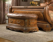 classic style upholstered bench CORTINA: N65904-28 MICHAEL AMINI