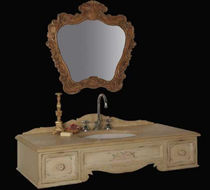 classic style washbasin cabinet with mirror 8470/PD BIANCHINI & CAPPONI