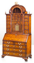 classic style wooden secretary desk KING WILLIAM ALTHORP