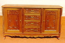 classic style wooden sideboard VENESSA Andrews Wood Crafts