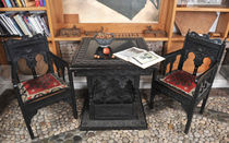 classic style writing desk RNT 226   rukotvorine