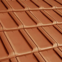 clay flat roof tile XXL ERLUS