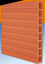 clay partition brick LA CARRE 40x40/50X50 IMERYS Structure