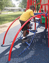 climber for playground ARCH CHAIN little tikes