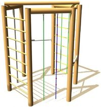 climber for playground THE JOCS RANGE Parques Infantiles Isaba