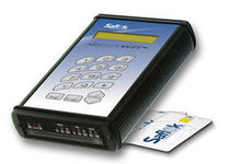 code keypad with proximity card reader for access control SAFLOK SECURE SHIFT® KABA-SAFLOK