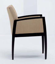 commercial bridge armchair SILERO by David Dahl & Carl Muller  Arcadia Contract