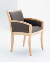 commercial bridge armchair LIBRETTO by David Dahl Arcadia Contract