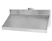 commercial built-in extractor hood WALL EXTRACTOR WITH SUPLLY AIR UNIT  MAFIROL