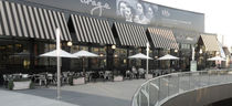 commercial canvas canopy PIZZA ANTICA RESTAURANT, SANTA MONICA, USA Accsys Technologies