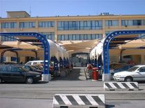 commercial carport  Tenso One Design