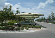 commercial carport (canvas cover) RESORT  Apollo Sunguard