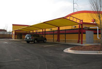 commercial carport (canvas cover) SWIFTY Apollo Sunguard