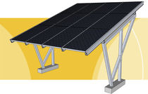 commercial carport (with integrated photovoltaic panels) ALAXY ENERGY CARPORT Galaxy Energy