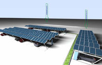 commercial carport (with integrated photovoltaic panels) AIPARK01  Aion