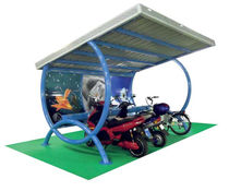 commercial carport (with integrated photovoltaic panels) SNAIL MX group