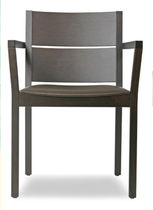 commercial chair with armrests Q ARM by Tom Kelley The Chair Factory