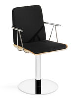 commercial chair with armrests ZAC SK by Markku Pakkanen Selka-line Oy