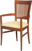 commercial chair with armrests GIADA/P1 B Selka-line Oy