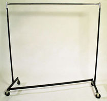 commercial coat rack with casters wardrobe  STM Studio Supplies