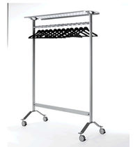 commercial coat rack with casters BAYAN  MA-OF, S.A.
