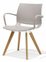 commercial contemporary chair 2080 UNI_VERSO Kusch & Co