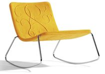 commercial contemporary rocking armchair SNOOZE by S.Borselius & F.Mattson Blå Station