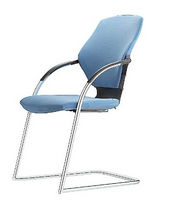 commercial contemporary sled base stacking chair PUMA Grammer Office