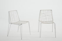 commercial contemporary stacking chair PENELOPE by Marcello Ziliani Casprini Gruppo Industriale