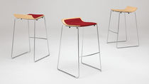 commercial contemporary stacking stool TAKE-5 Allsteel