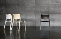 commercial contemporary stacking wooden chair LaClasica by Jesus Gasca STUA