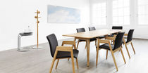 commercial contemporary wooden table HOLZER Löffler Bürositzmöbel GmbH
