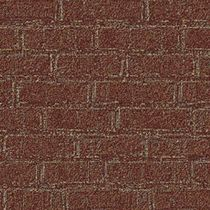commercial cut pile tufted synthetic carpet (Green Label Plus-certified, low VOC emissions) BRICK WALL Milliken Contract