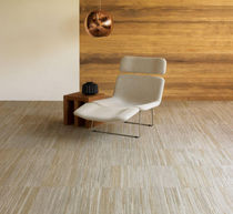 commercial cut pile tufted synthetic carpet (Green Label Plus-certified, low VOC emissions) INGRAIN Shaw Contract