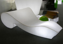commercial design luminous lounge chair ROCOCO by Gianni Arnaudo SLIDE