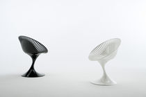 commercial designer swivel chair for offices AZHAR by Marcello Ziliani Casprini Gruppo Industriale