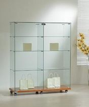 commercial display case with casters  LAMINATO LIGHT:12/14 Italvetrine