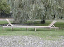 commercial double outdoor garden sun lounger  WILLIAM GARVEY