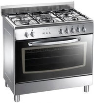 commercial dual fuel range cooker LA GERMANIA D95C71X  SARO
