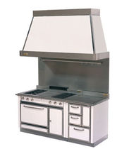 commercial dual fuel range cooker FGU60 serie Grand Chef de Manincor