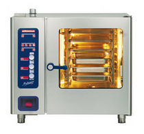 commercial electric and steam combination oven MULTIMAX A: 6 X GN 1/1 (RIGHT HINGED DOOR-WITH HAND SHOWER) Eloma